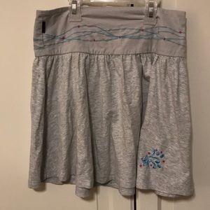 American Girl grey skirt. Size 12